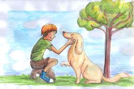 melhor amigo do menino
