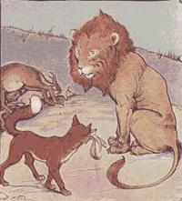 A raposa e o leão