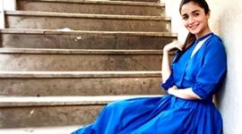 O vestido azul