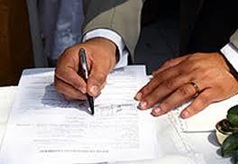 modelo de contrato de casamento