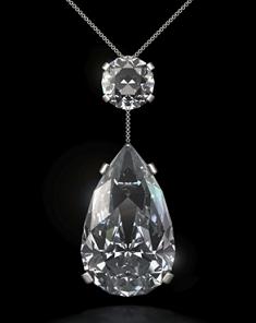 colar de diamantes